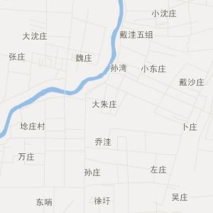 沭阳县周集乡交通地图