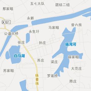 江苏省旅游地图 扬州市旅游地图