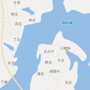 高邮市-郭集镇卫星地图