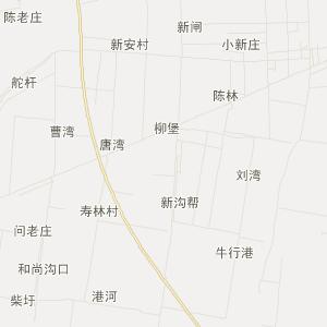 宝应夏集旅游地图_中国电子地图网