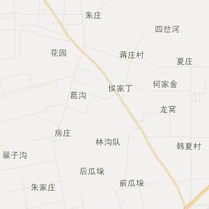 集镇交通地图 地址:江苏省·扬州市·宝应县·夏集镇