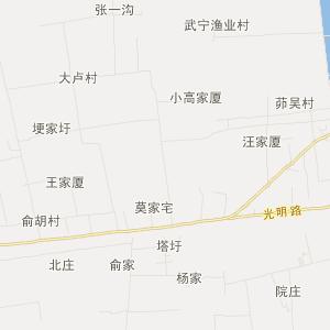 高邮市三垛镇旅游地图
