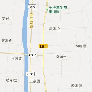 江苏省交通地图 扬州市交通地图