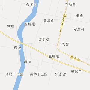 杨集镇地图_郯城县杨集镇三维电子地图和邮编