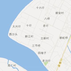 镇江市扬中市交通地图