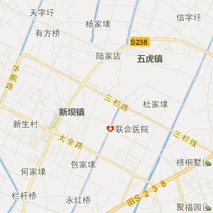 镇江扬中旅游地图_扬中旅游图