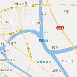 阜宁县合利镇交通地图图片
