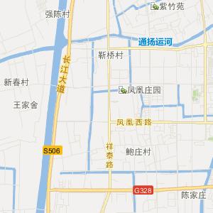 海陵九龙交通地图_中国电子地图网