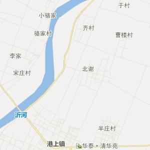 邳州市铁富镇交通地图