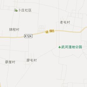 郯城县褚墩镇旅游地图