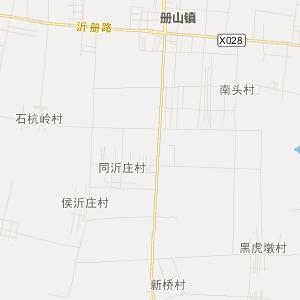 山东省交通地图 临沂市交通地图
