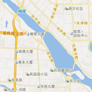 临沂市河东区交通地图