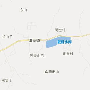 山东省旅游地图 临沂市旅游地图