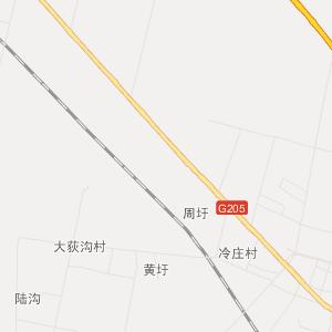 沭阳县庙头镇交通地图