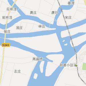 宿迁市沭阳县交通地图