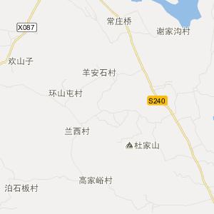 平邑县郑城镇旅游地图