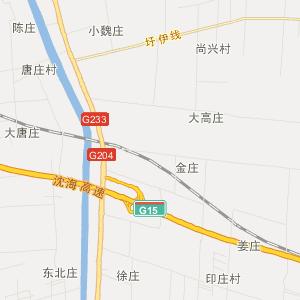 灌云县下车乡交通地图图片