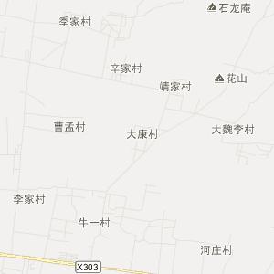章丘市相公庄镇高清交通地图