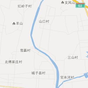 山东省交通地图 莱芜市交通地图