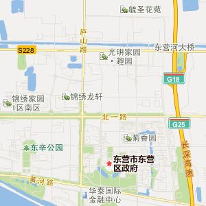 山东广饶县地图