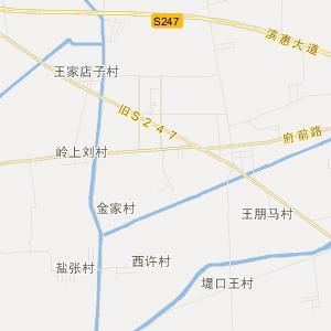 惠民麻店旅游地图_中国电子地图网