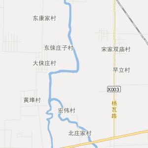 坊子区九龙涧街道交通地图图片