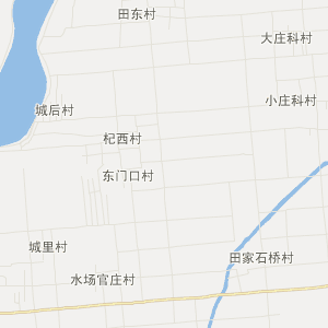 山东省旅游地图 潍坊市旅游地图