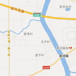 平度新河旅游地图_中国电子地图网
