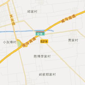 山东省交通地图 青岛市交通地图