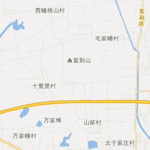 山东旅游地图 青岛旅游地图