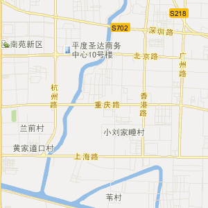 山东交通地图 青岛交通地图