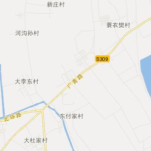 山东省交通地图 淄博市交通地图