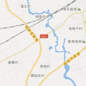 抚宁县牛头崖镇交通地图