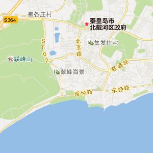 抚宁县牛头崖镇交通地图图片