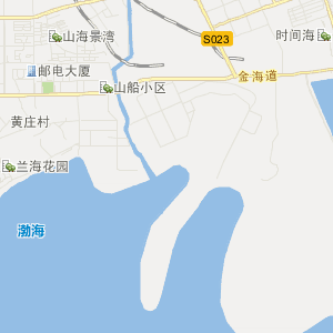 河北省交通地图 秦皇岛市交通地图 > 山海关区交通地图  uemap.