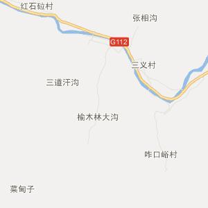 承德市兴隆县旅游地图