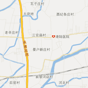 遵化遵化高清交通地图