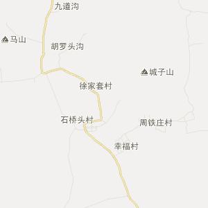 遵化东旧寨旅游地图_中国电子地图网