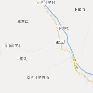 内蒙古交通地图 赤峰交通地图
