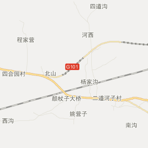平泉县平泉镇旅游地图