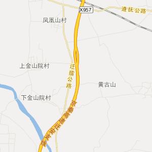 河北旅游地图 唐山旅游地图