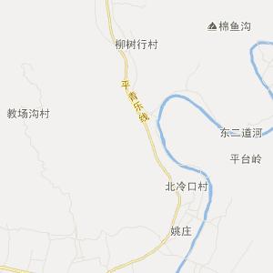 河北省旅游地图 唐山市旅游地图