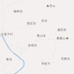 河北省旅游地图 秦皇岛市旅游地图 青龙县旅游地图 肖营子镇旅游地图