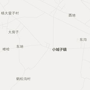 辽宁省交通地图 朝阳市交通地图