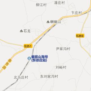 抚宁县石门寨镇交通地图图片