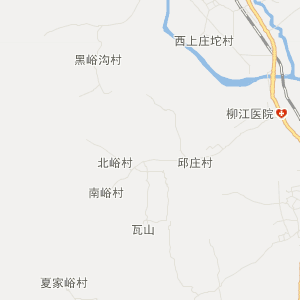 抚宁县石门寨镇交通地图