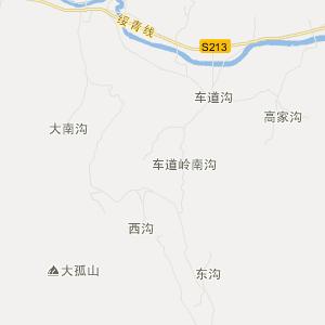 绥中县明水满族乡旅游地图