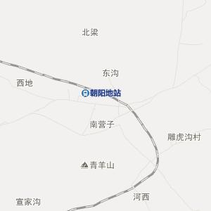 围场朝阳地旅游地图_中国电子地图网