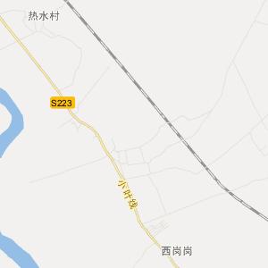 元宝山美丽河旅游地图