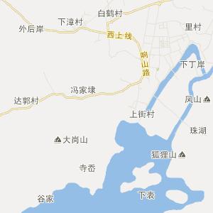上虞汤浦旅游地图_中国电子地图网